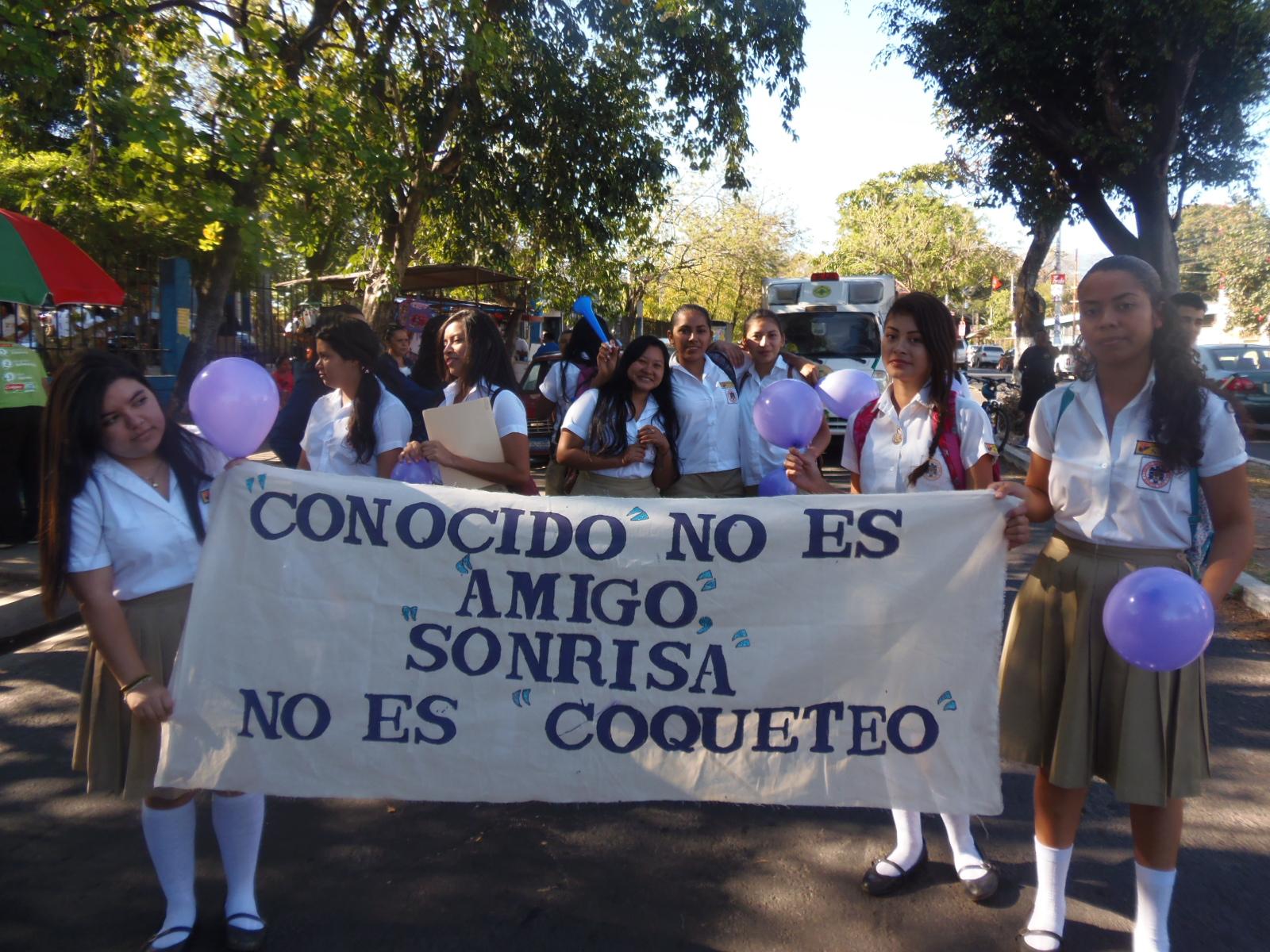Conmemoran día internacional de la mujer en Santa Ana