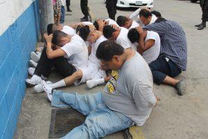 Condenan a ocho pandilleros de la MS por diferentes delitos en Santa Ana