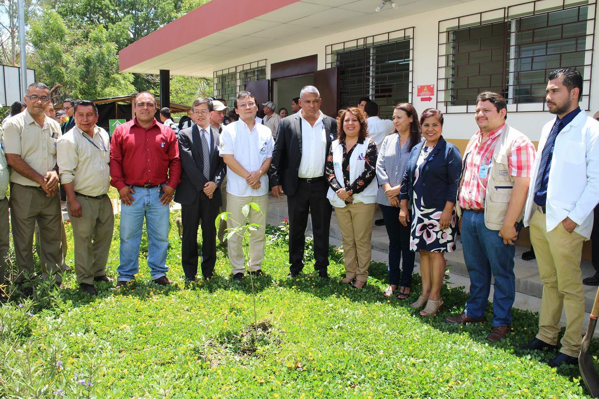 Japón construyó Unidad de Salud en San Lorenzo, Ahuachapán
