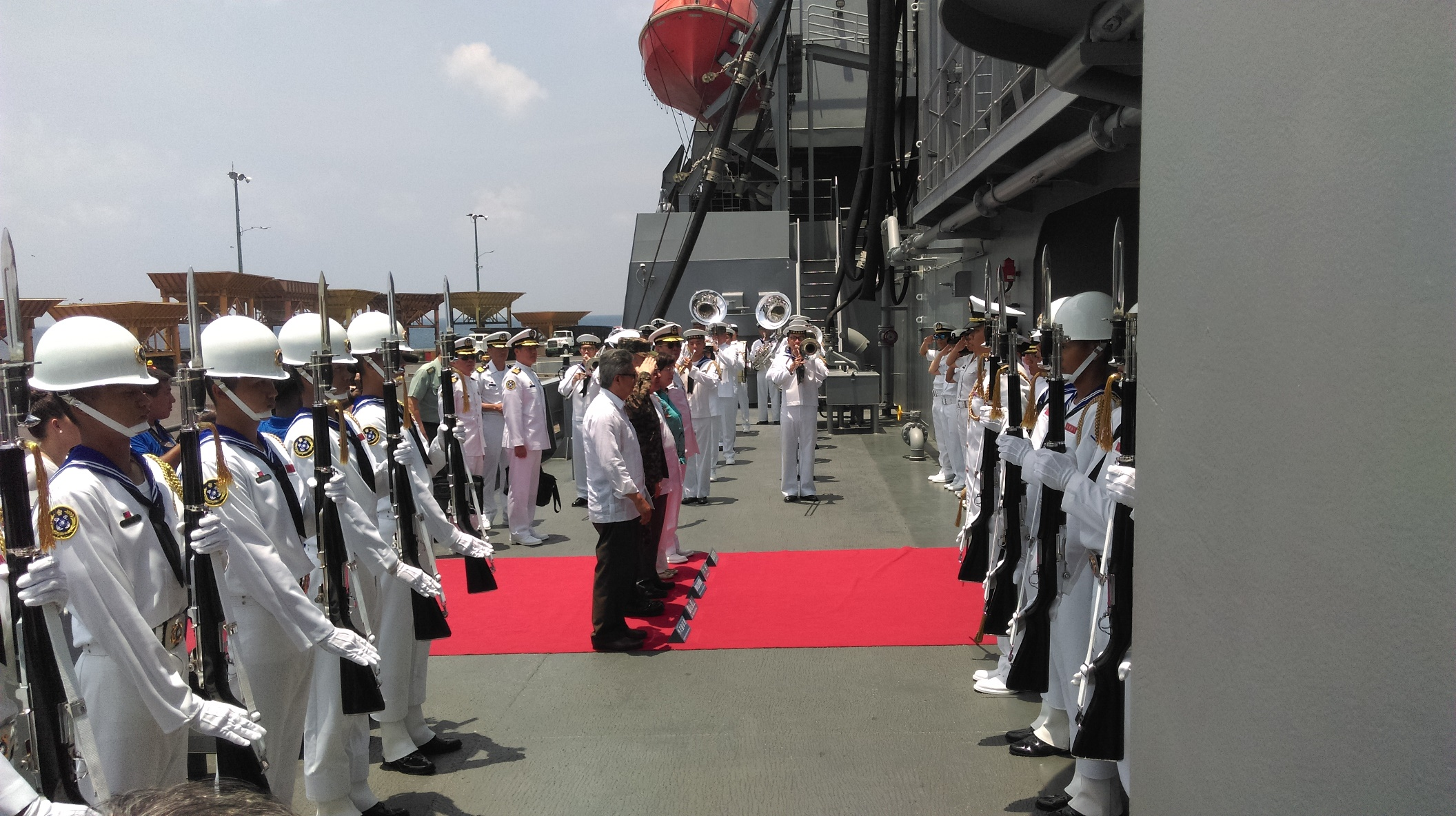 Flota de Amistad No.107 de la República de China (Taiwán) visita El Salvador