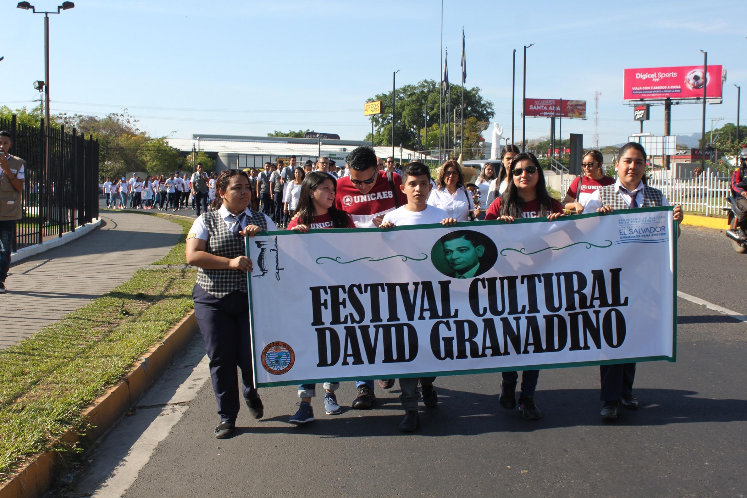 47 actividades se han programado durante el Festival David Granadino en Santa Ana