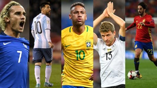Brasil, Alemania y España, tres candidatos al mundial