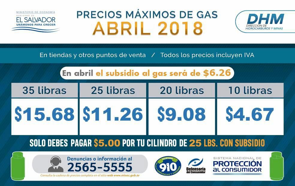 Subsidio al gas será ampliado