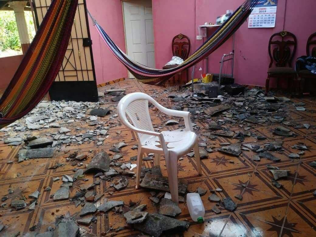 Sigue actividad sísmica en los municipios de Chirilagua e Intipucá