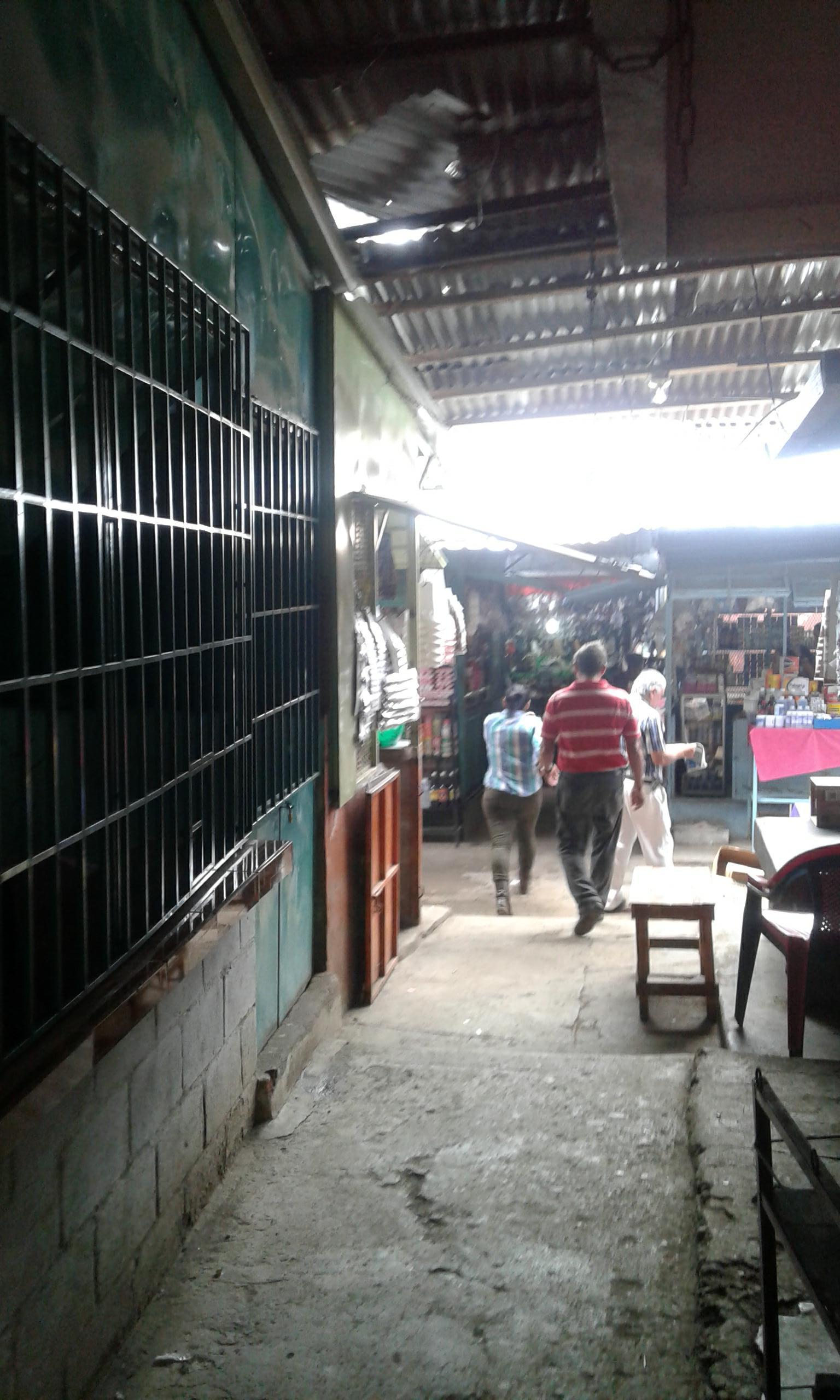 Arrendatarios del mercado Colón solicitan reparación de techado