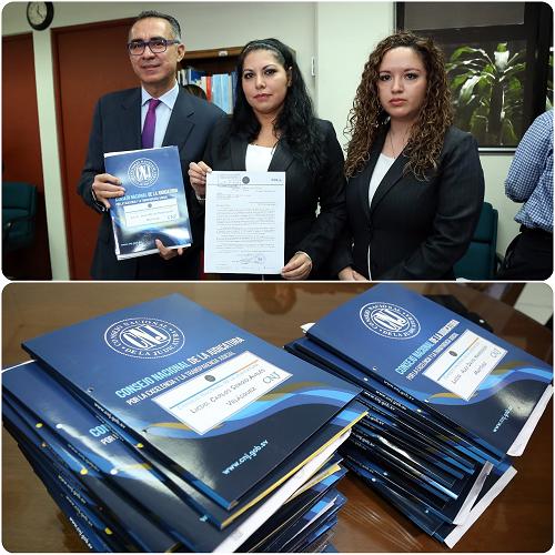 Asamblea Legislativa recibe listado de 30 candidatos a Magistrados CSJ