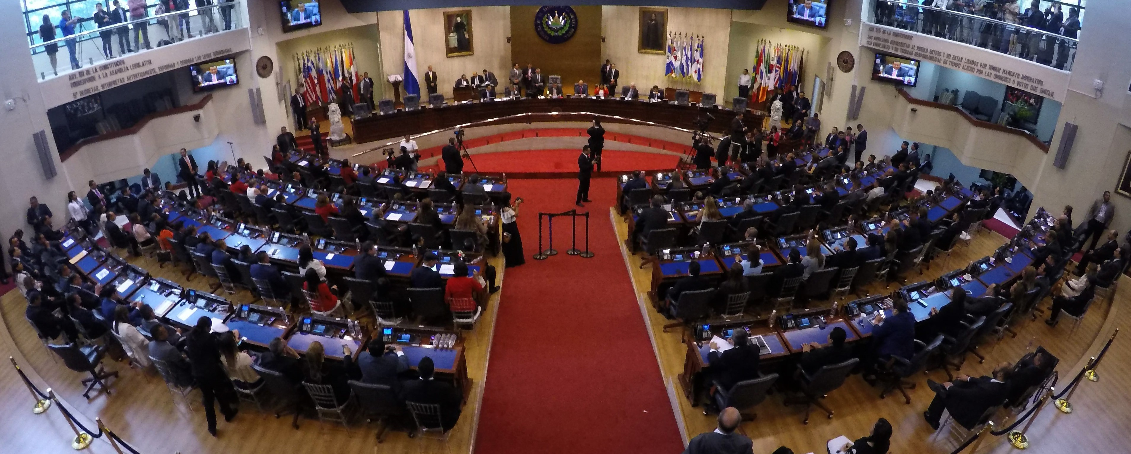 20 comisiones permanentes para trabajo legislativo