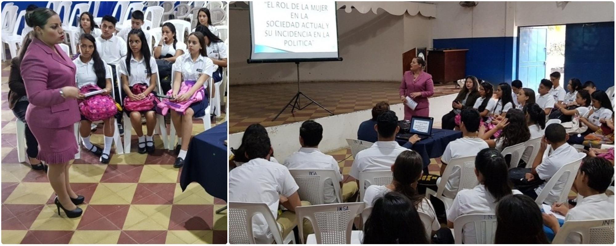 Departamental Santa Ana continua con diplomado sensibilización y formación desde la perspectiva de género
