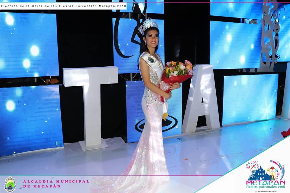 Andrea Castro Pubil, nueva reina de Metapán