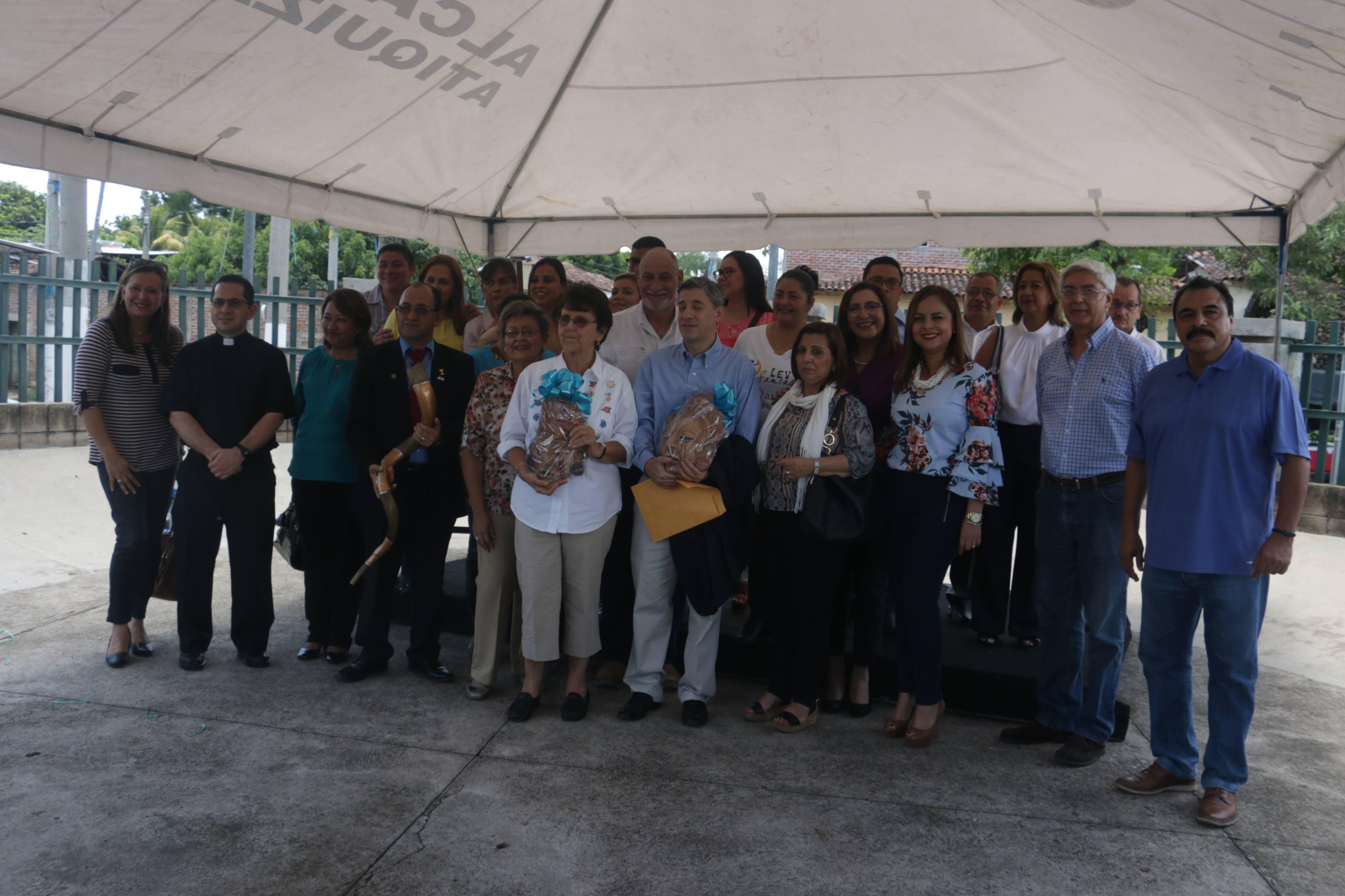 Atiquizaya firma convenio con la Cámara de Comercio Israel-El Salvador