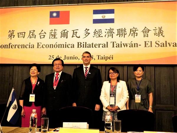 Delegación salvadoreña participa en IV Reunión Económica Conjunta en Taiwán