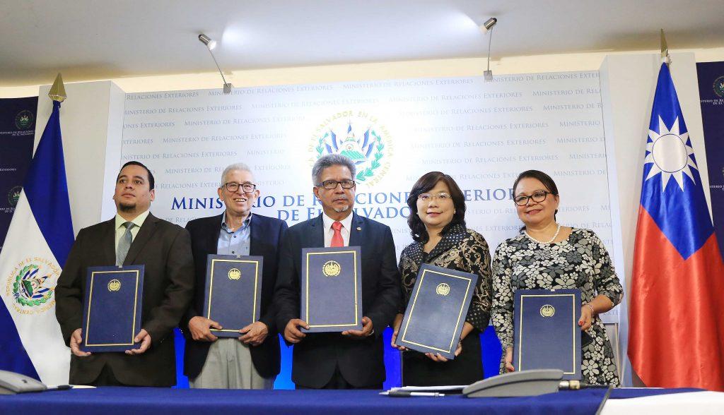 Taiwán demuestra su compromiso con El Salvador a través de la contribución  a proyectos de desarrollo