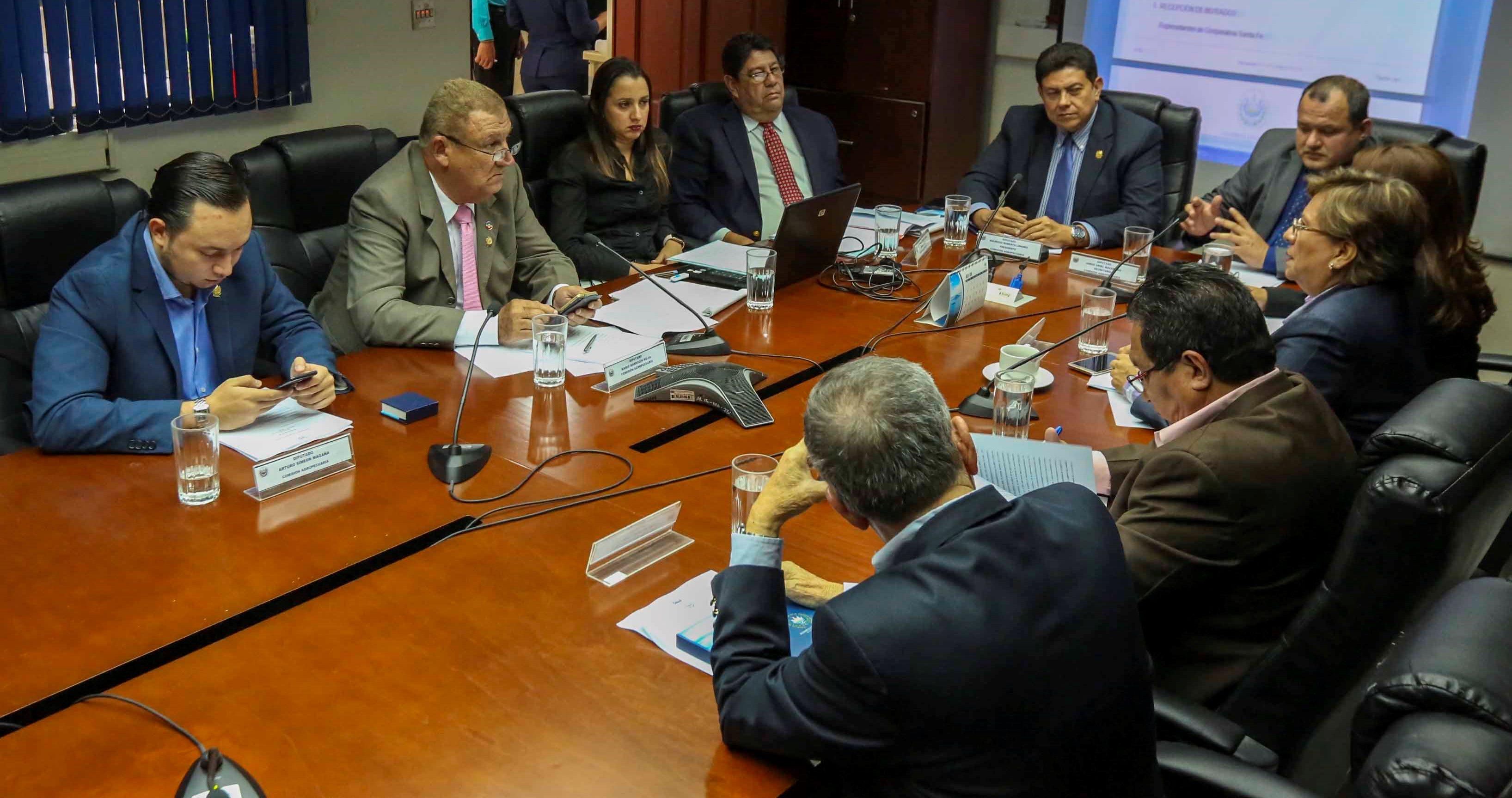 Diputados acuerdan visita al lugar donde el MAG pide crear distrito de riego El Porvenir