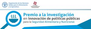 FAO ofrece premio a la investigación en políticas de seguridad alimentaria