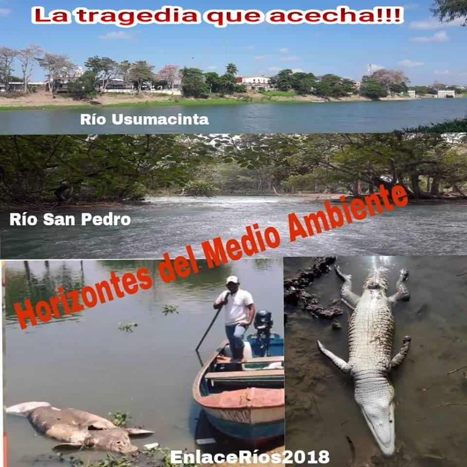 FRONTERA SUR: La tragedia que acecha a los Ríos Usumacinta y San Pedro