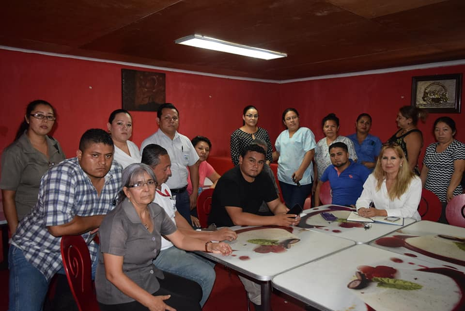 Empleados del sector salud en la región occidental piden estabilidad laboral