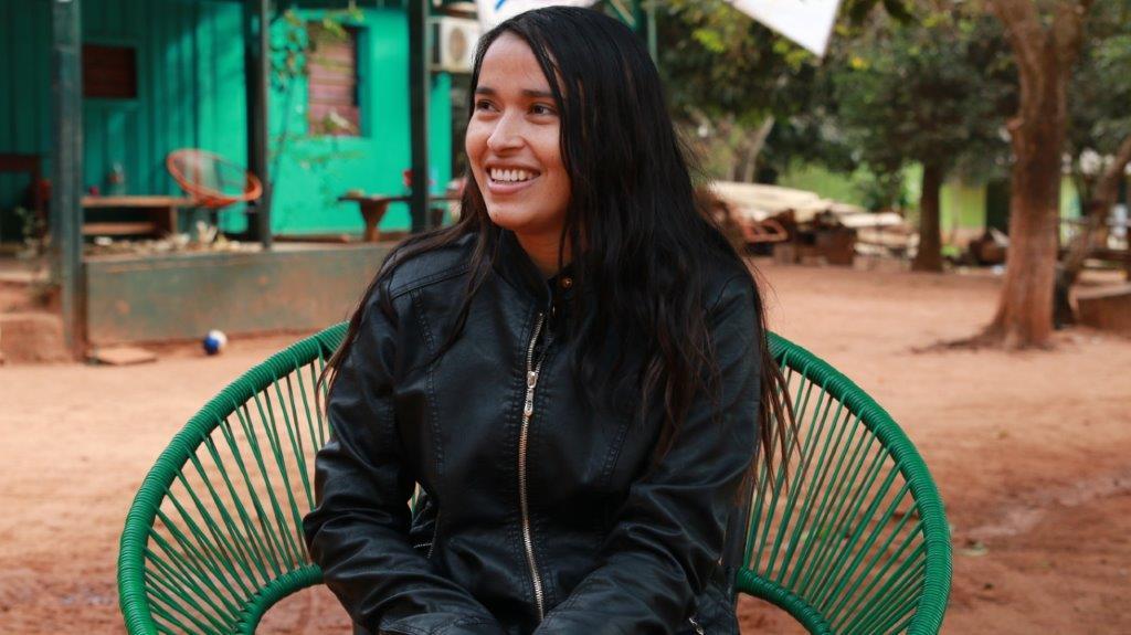 Una líder indígena que nació en la cancha