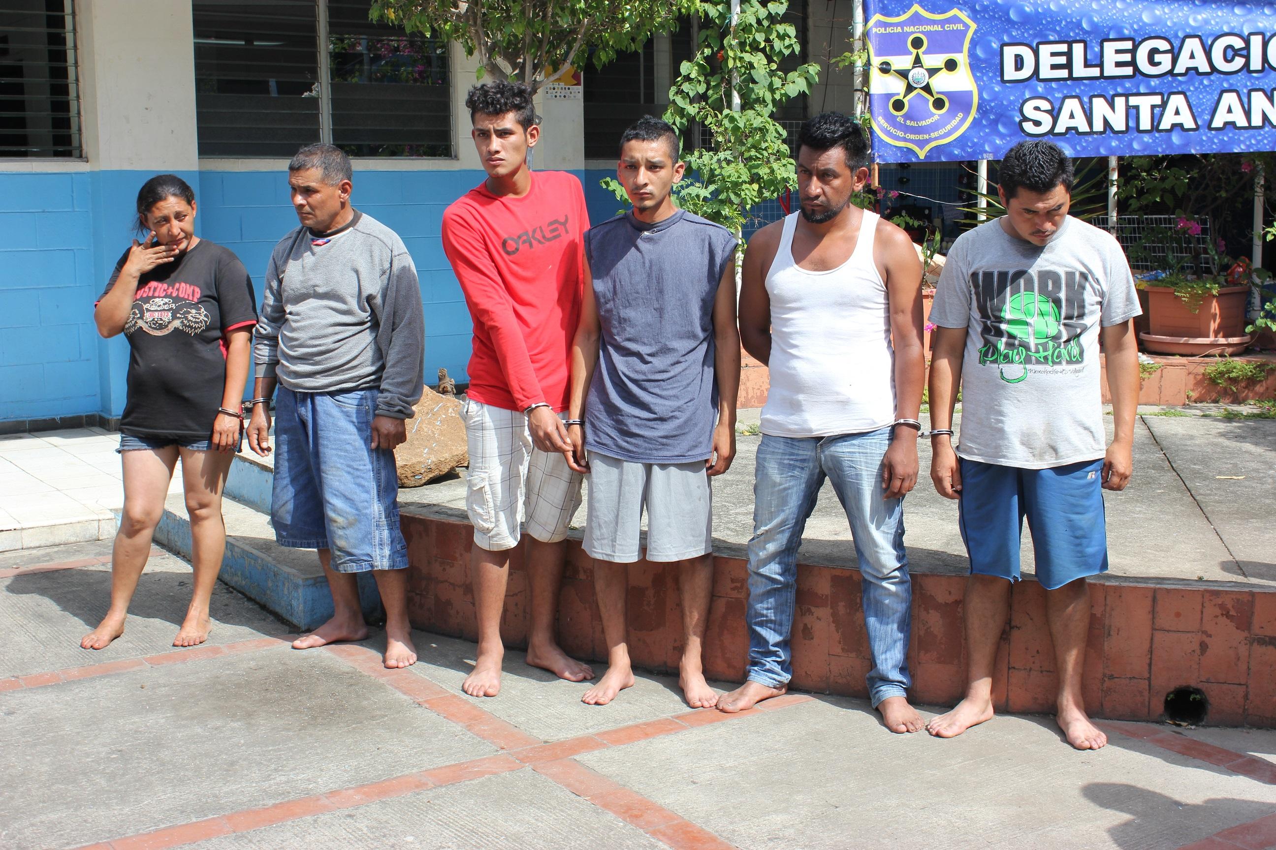 Allanamiento en cantón El Matazano y sus alrededores dejó varias capturas