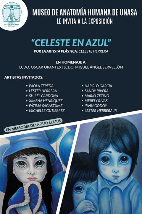 """AGENDA CULTURAL:  Inauguracion de la Expocicion """"Azul Celeste"""" en Santa Ana"""