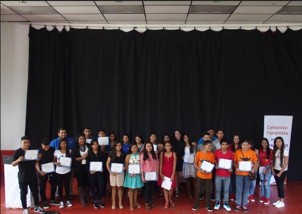 Clausura Diplomado Jóvenes
