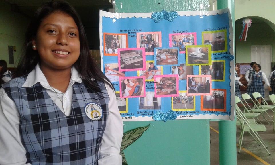 Estudiantes se comprometen a contribuir con el planeta