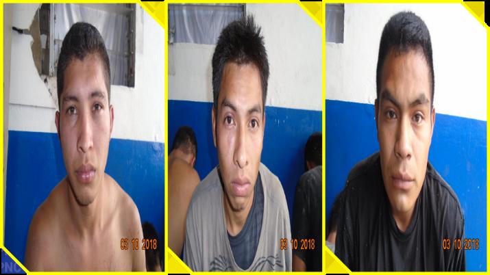 Ahuachapan:  Tres detenidos en flagrancia, por privación de libertad