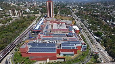 LA ENERGIA SOLAR ES LA APUESTA DEL GRUPO ROBLE EN EL SALVADOR