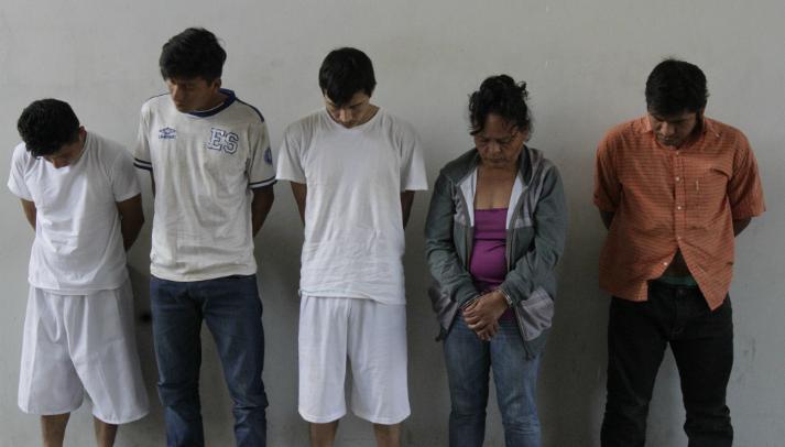 DECO capturo a cinco miembros de estructura criminal por secuestro