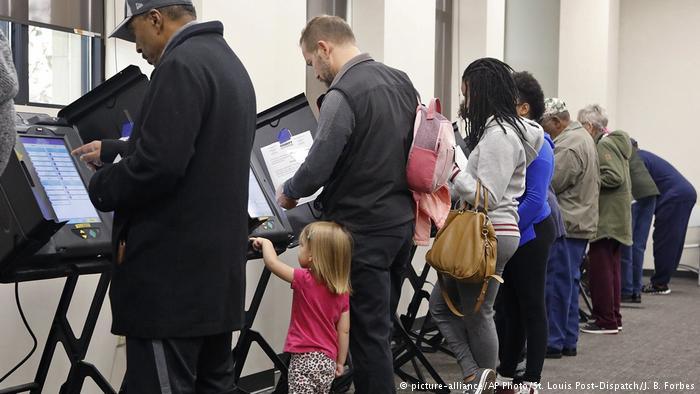 Comienzan las elecciones de mitad de mandato en Estados Unidos