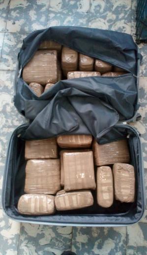 Menor de edad privada de libertad con droga en frontera San Cristóbal