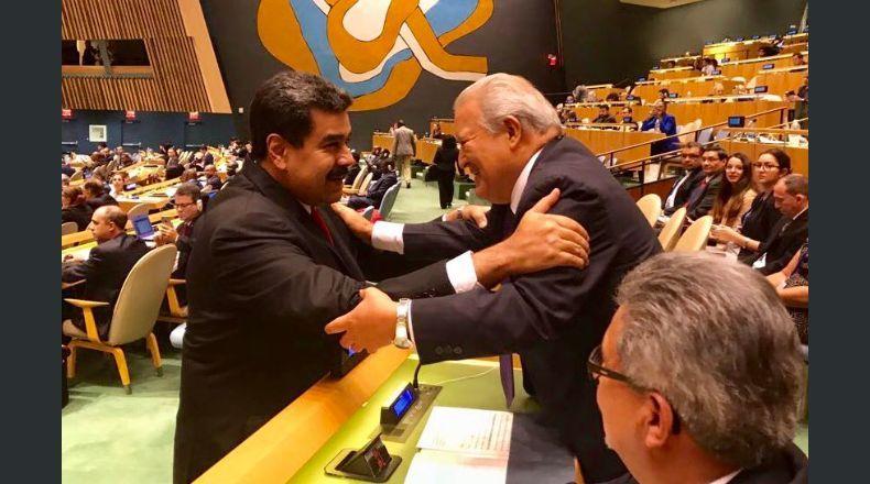 El Salvador respalda al Presidente de la República Bolivariana de Venezuela, Nicolás Maduro