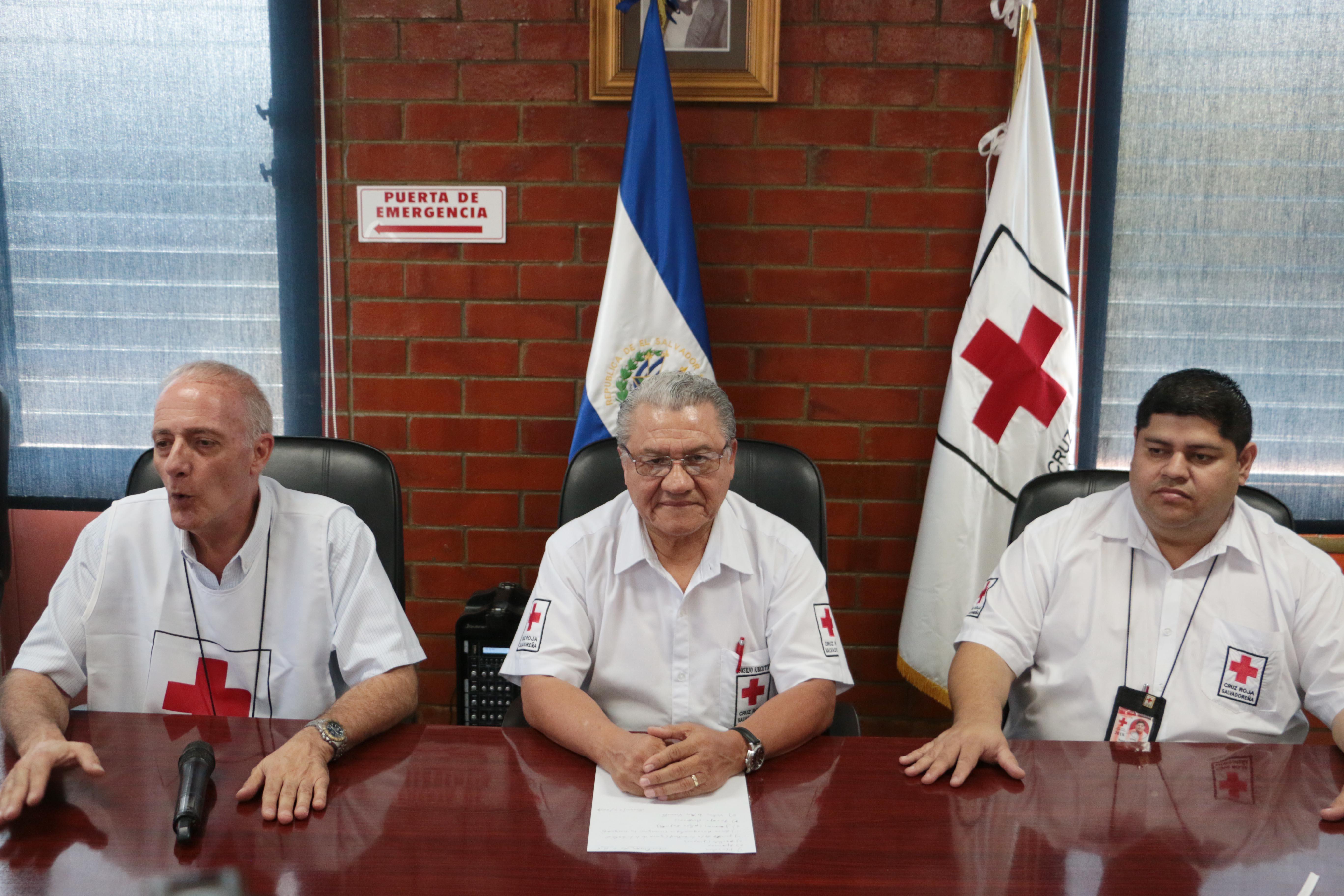 """Autoridades de la Cruz Roja Salvadoreña (CRS) dieron a conocer hoy el """"Plan Contingencial Elecciones 2019"""" sobre la operatividad de los voluntarios el día de las elecciones presidenciales."""