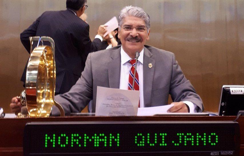 """""""Hago este llamado patriótico a que todos ejerzamos el sufragio el tres de febrero"""", doctor Norman Quijano"""