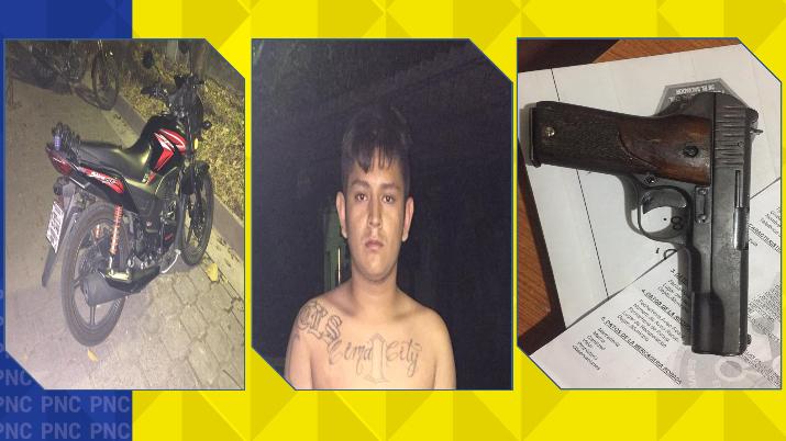 Detenidos por receptación y tenencia ilegal de arma de fuego