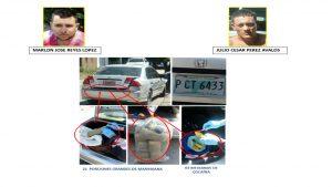 Unidad Antinarcotráfico logró que jueza impusiera 15 años de cárcel a dos hondureños