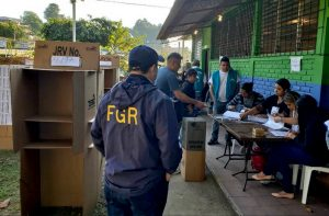 FGR garantizó la legalidad del proceso electoral y trabajará permanentemente en el escrutinio final