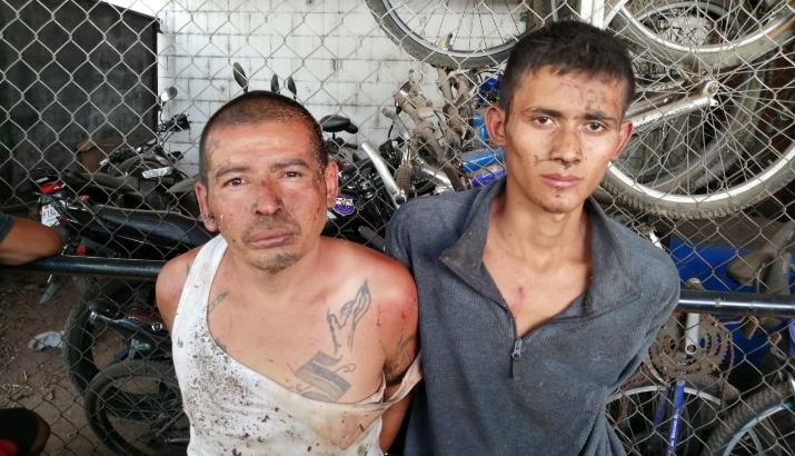 Sección Táctica Operativa (STO) de la PNC detiene a 3 prófugos por homicidio y privación en Santa Ana y Ahuachapán