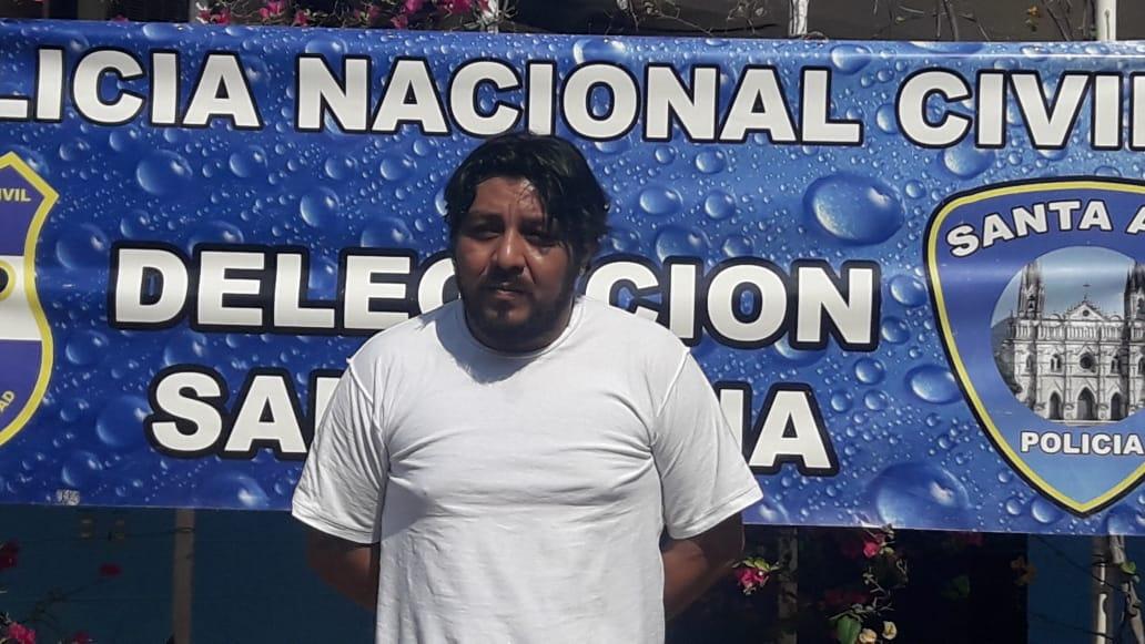 Presunto cabecilla de pandilla arrestado Metapán por la PNC