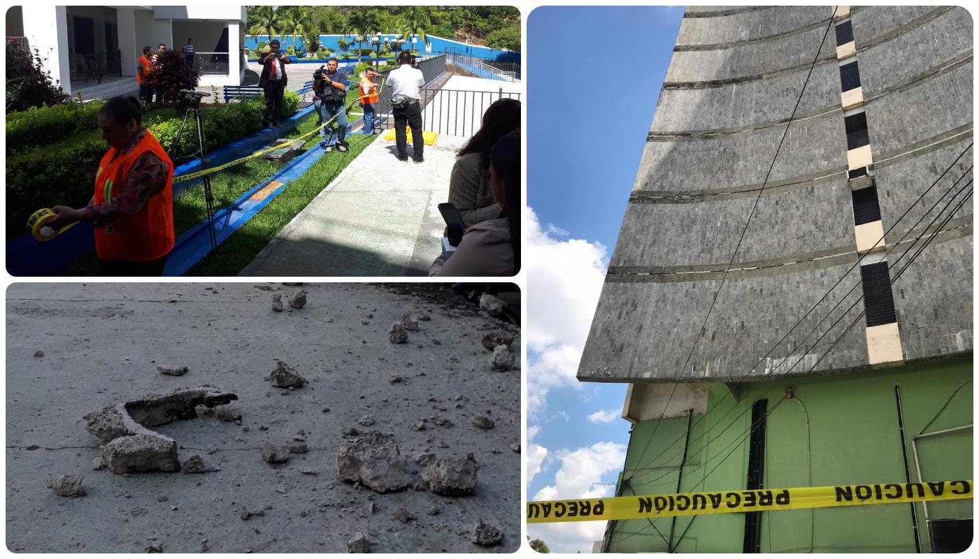 Edificios legislativos serán inspeccionados por protección civil por daños de infraestructura tras sismo.