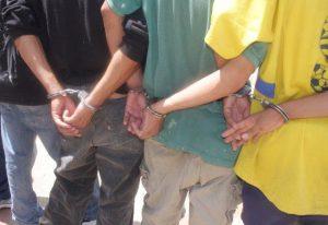 FGR Santa Ana logra condena de 15 años de cárcel contra tres extorsionista de la MS
