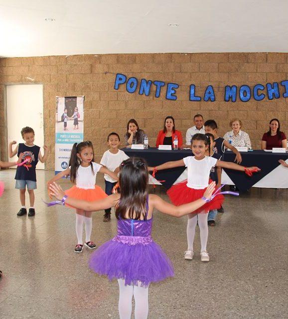 Ponte la Mochila y colabora con las nuevas generaciones de El Salvador