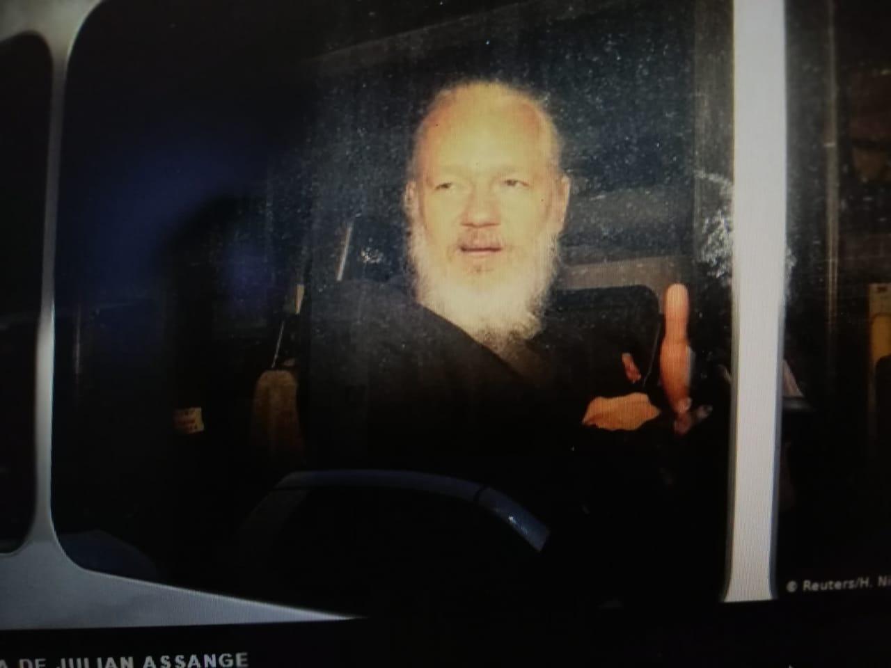 Arresto de Assange sienta un peligroso precedente