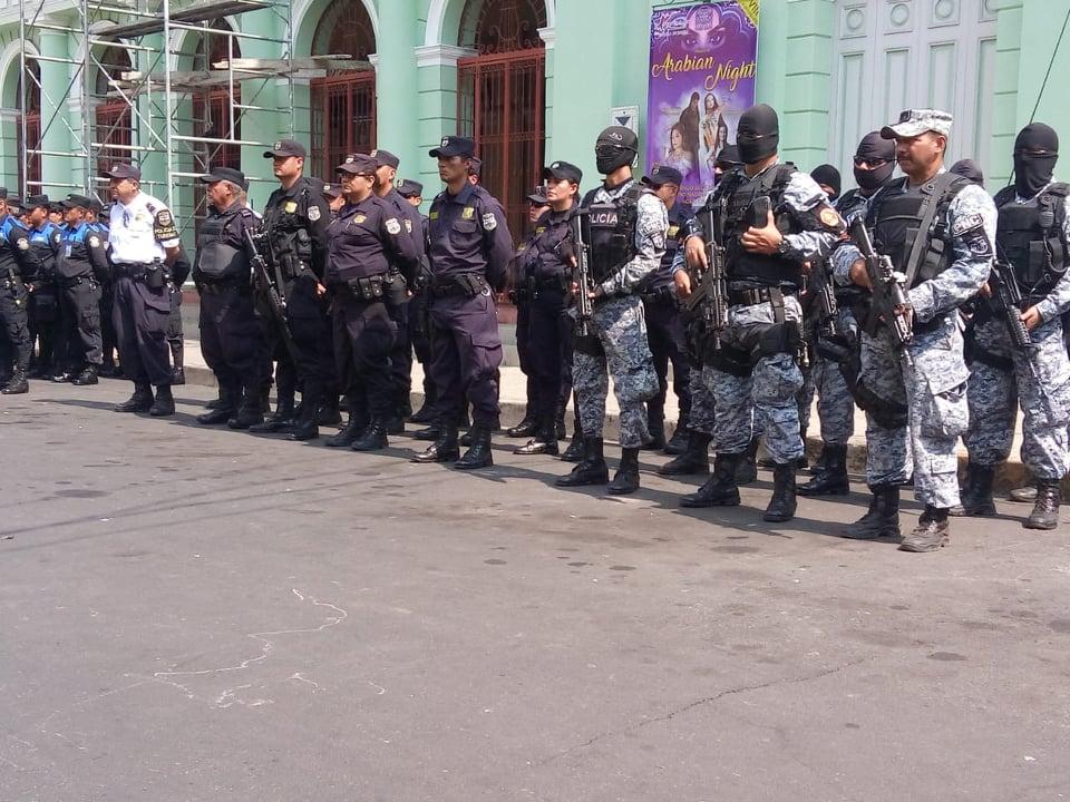 Plan de seguridad en Semana Santa en Santa Ana