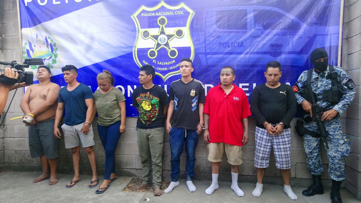 15 detenidos, involucrados en varios delitos, ocurridos en Mejicanos