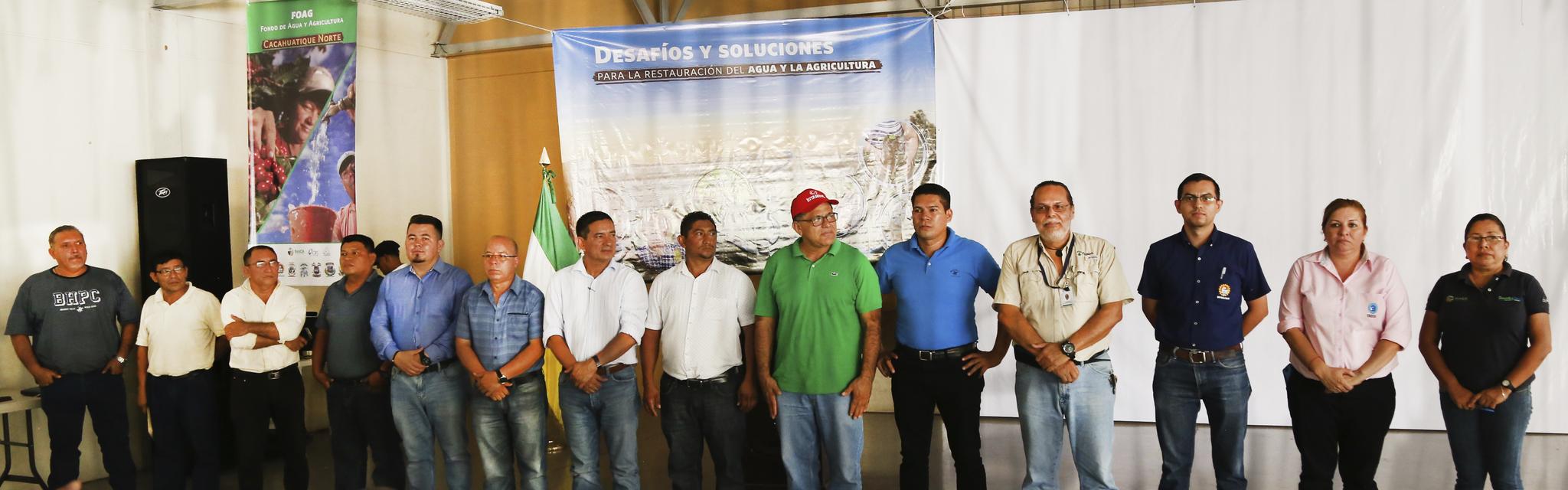 Se crean Fondos de Agua y Agricultura como mecanismos innovadores para la conservación de manantiales y el fomento de la agricultura sostenible en el Cerro de Cacahuatique