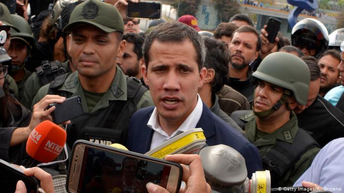 Venezuela y el apoyo militar a Guaidó