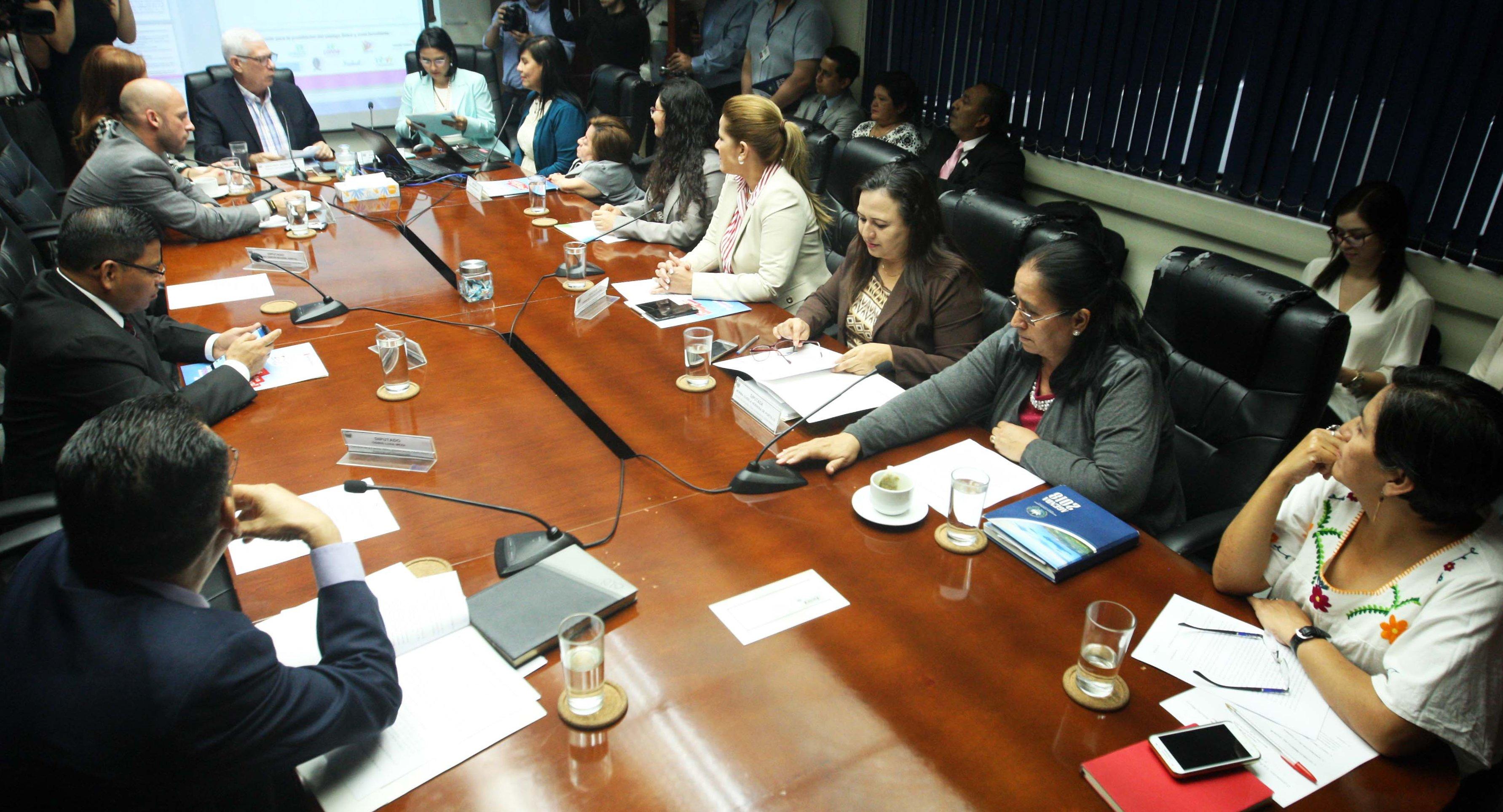 Intercambian opiniones sobre reforma a la LEPINA para prevenir el castigo físico en niños
