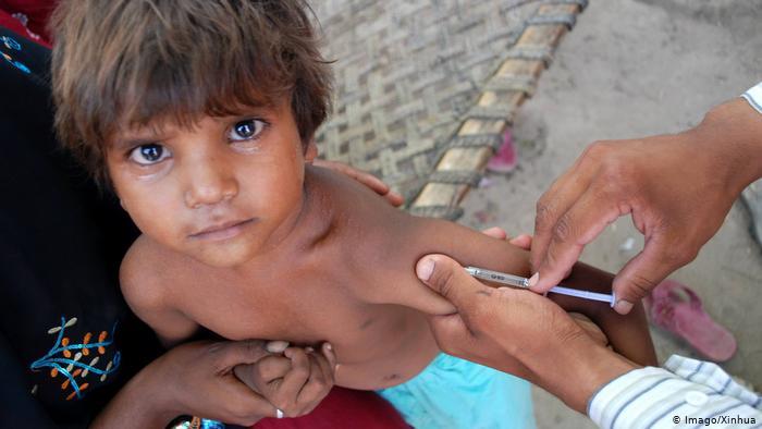 Se cuadruplican los casos de sarampión en el mundo en 2019