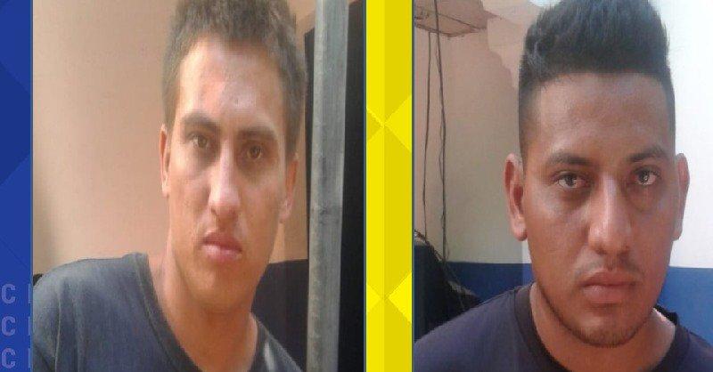 Policía captura a dos sujetos con arma de fuego