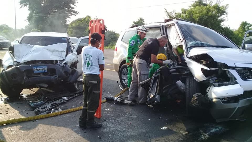 Accidente de tránsito deja dos personas fallecidas – Santa Ana